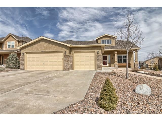 5 bedroom meridian ranch home for sale colorado springs for Ranch style homes in colorado